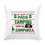 Tasse Camping RV Everyday Pillow