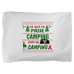 Tasse Camping RV Pillow Sham
