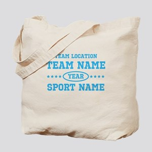 Sports Team Personalized Tote Bag