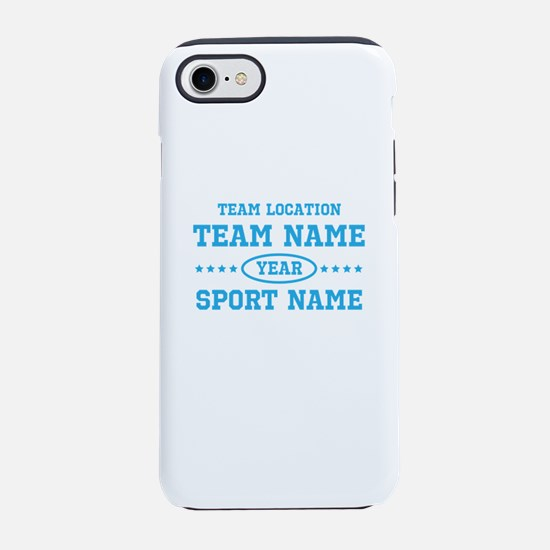 Sports Team Personalized iPhone 8/7 Tough Case