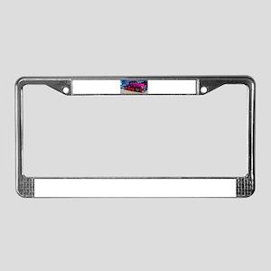 Hotrod License Plate Frame