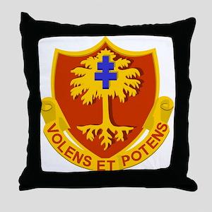 Army 320th Field Artillery Throw Pillow