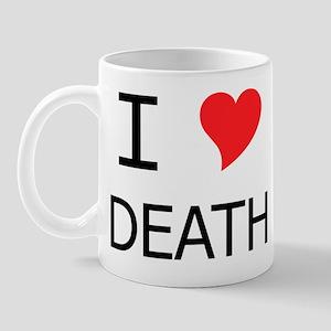 I Heart Death Mug