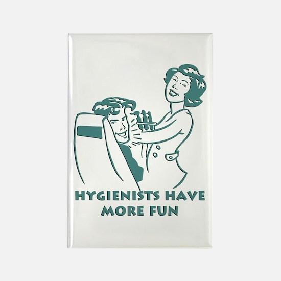 Funny Dental Hygiene Rectangle Magnet