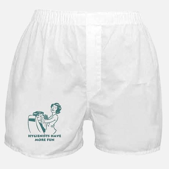 Funny Dental Hygiene Boxer Shorts
