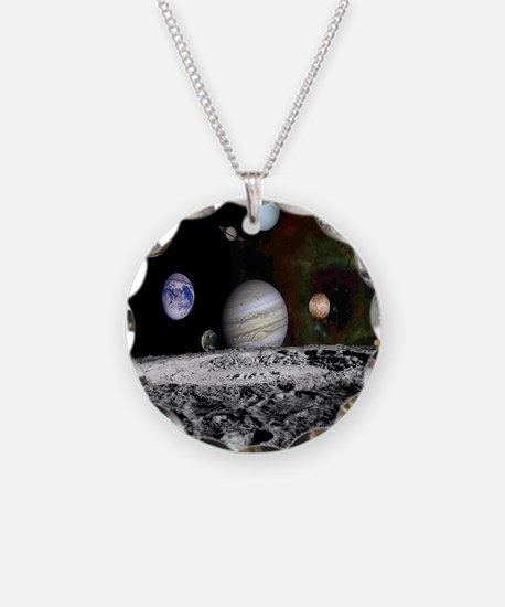 Solar System Montage Necklace