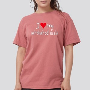I LOVE MY Wirehaired Vizsla Women's Dark T-Shirt
