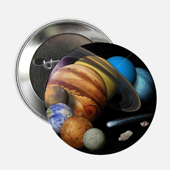 "Solar System Montage 2.25"" Button (10 pack)"
