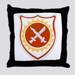 Army 10h Field Artillery Throw Pillow