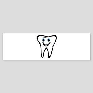 Tooth Bumper Sticker