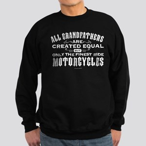 Grandfathers Ride Motorcycle Sweatshirt