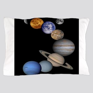 Solar System Montage Pillow Case