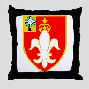 Army 12th Field Artillery Logo Throw Pillow