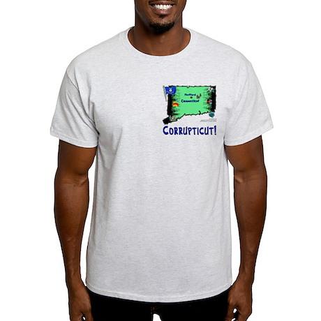CT-Corrupticut! Light T-Shirt