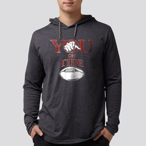 YOU on Tide Footbal Long Sleeve T-Shirt