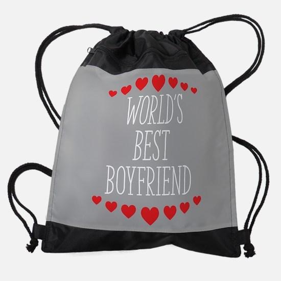 World's Best Boyfriend Drawstring Bag