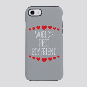 World's Best Boyfriend iPhone 8/7 Tough Case