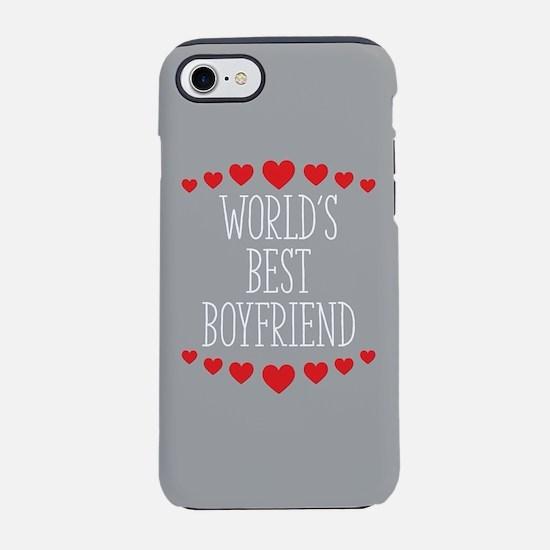 World's Best Boyfriend iPhone 8/7 Tough Case