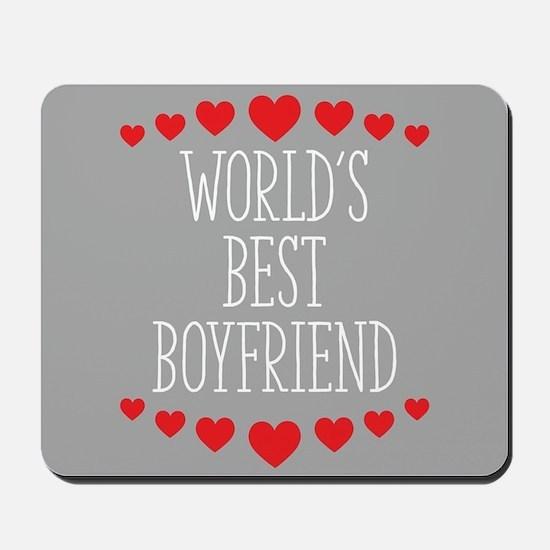 World's Best Boyfriend Mousepad
