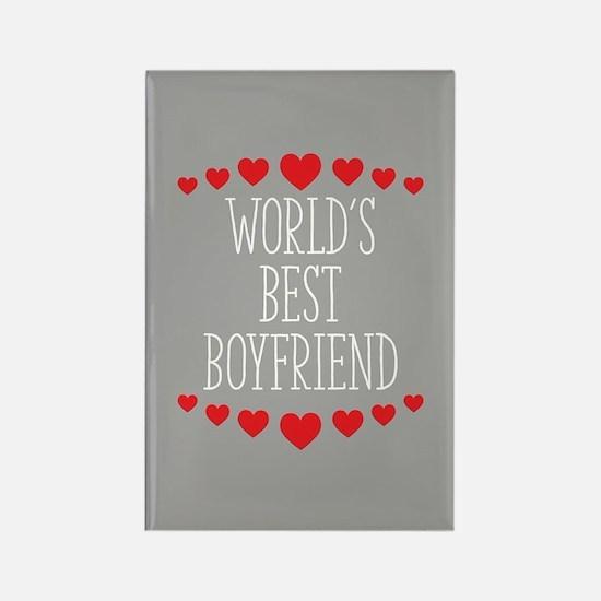 World's Best Boyfriend Rectangle Magnet (10 pack)
