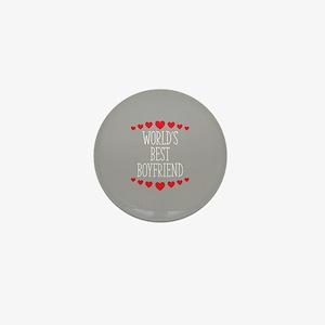 World's Best Boyfriend Mini Button
