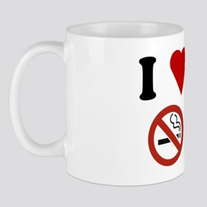 I Love No Smoking Mug