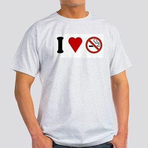 I Love No Smoking Light T-Shirt