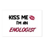 Kiss Me I'm a ENOLOGIST Postcards (Package of 8)
