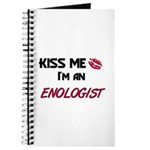 Kiss Me I'm a ENOLOGIST Journal