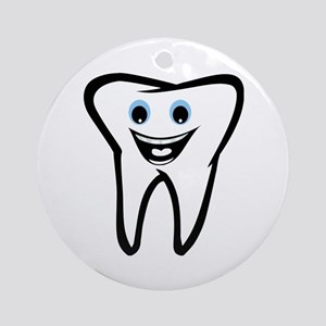 Tooth Round Ornament