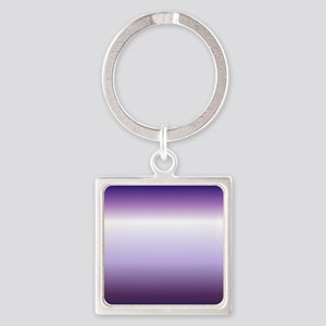 abstract lilac purple ombre Keychains
