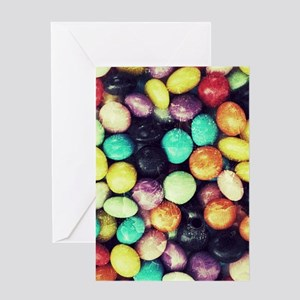 Cracked Candy 1 Greeting Cards