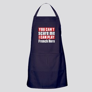 I Can Play French Horn Apron (dark)