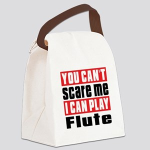 I Can Play Flute Canvas Lunch Bag