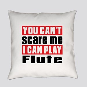 I Can Play Flute Everyday Pillow