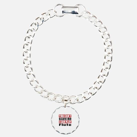 I Can Play Flute Charm Bracelet, One Charm