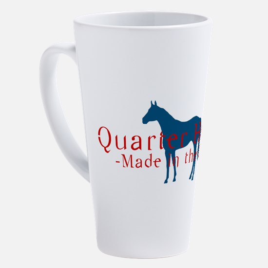 Cute Quarter horse 17 oz Latte Mug