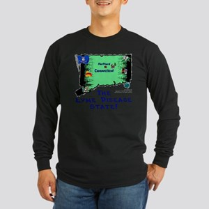 CT-Lyme! Long Sleeve Dark T-Shirt