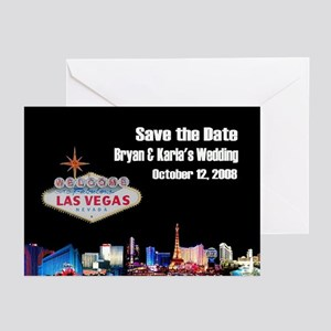 Save the Date Bryan & Karla Sam 2 Cards (Pk of 10)