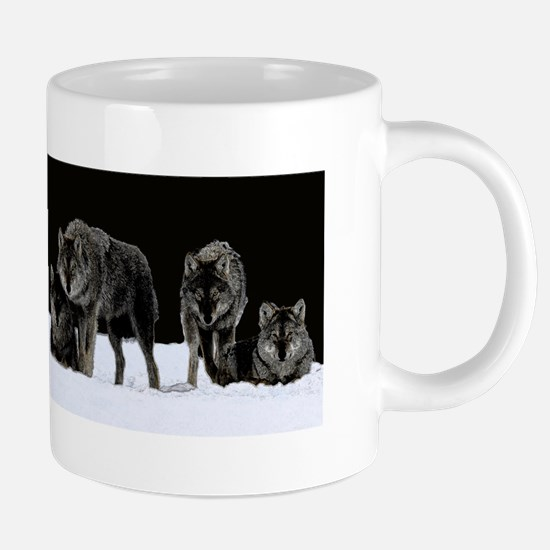 Dark Wolves Mugs