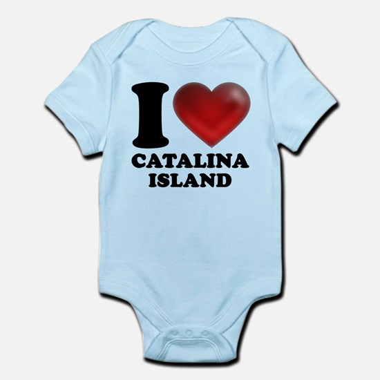 I Heart Catalina Island Body Suit