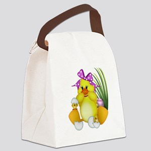 I'm a mom Canvas Lunch Bag