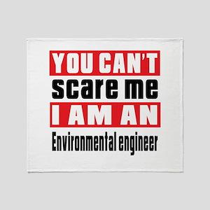 I Am Environmental engineer Throw Blanket