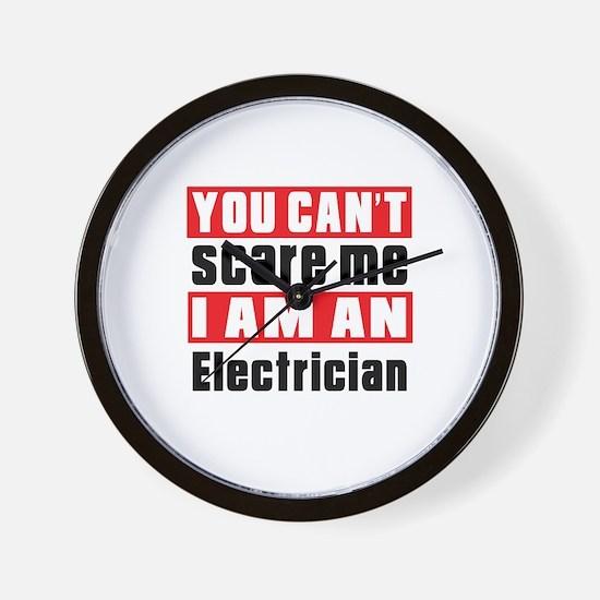 I Am Electrician Wall Clock