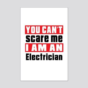 I Am Electrician Mini Poster Print