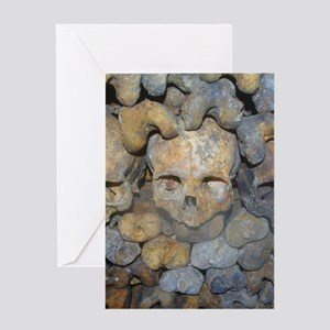 CATACOMBS Greeting Cards