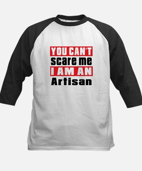 I Am Artisan Kids Baseball Jersey