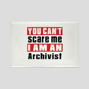 I Am Archivist Rectangle Magnet