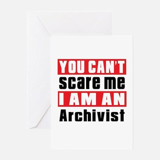 I Am Archivist Greeting Card