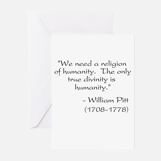 Freethought Quote Greeting Cards (Pk of 10)